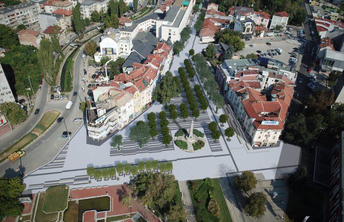 """Основно обновление на площад """"Свободата"""""""