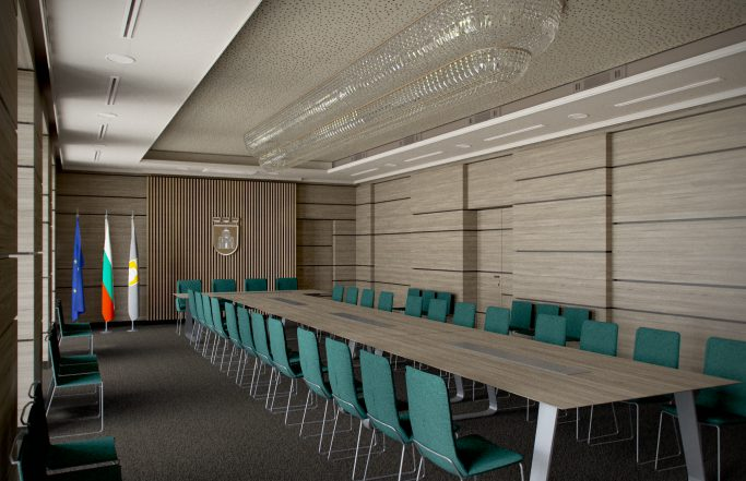 Конферентна зала на Община Плевен