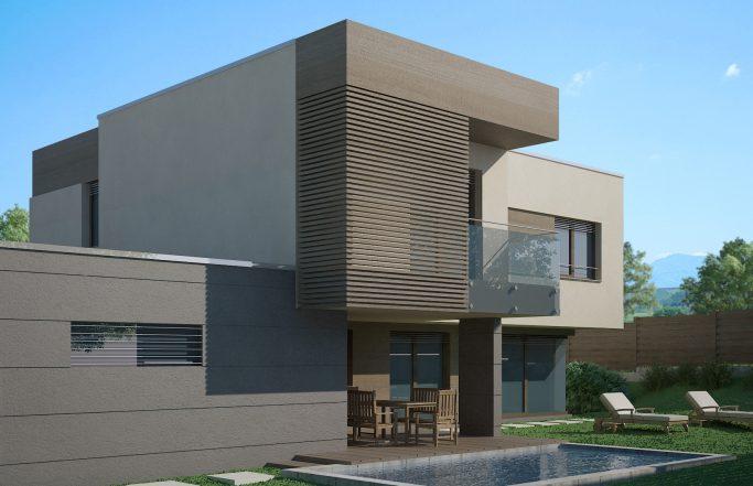 Еднофамилна къща 1 в комплекс Домо