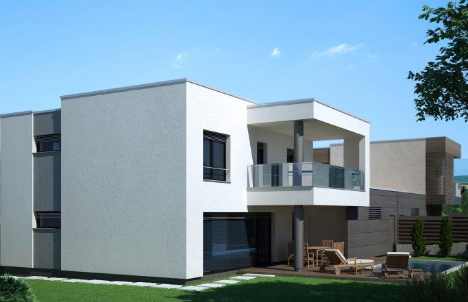 Еднофамилна къща 2 в комплекс Домо