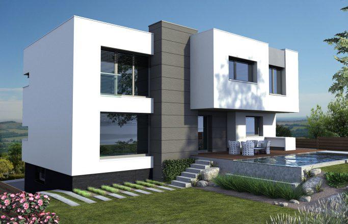 Еднофамилна къща 5 в комплекс Домо