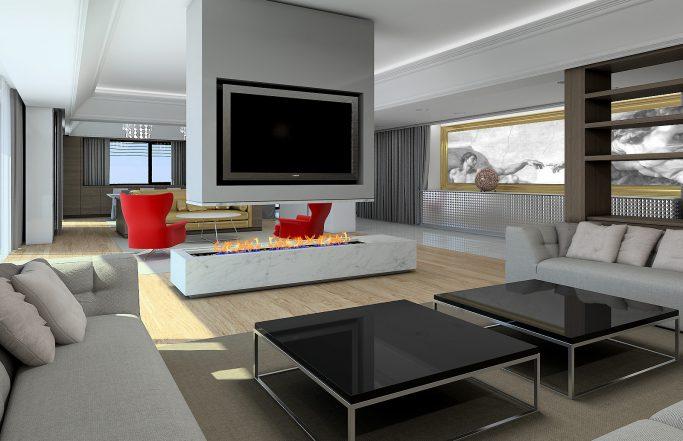 Интериор на частна резиденция